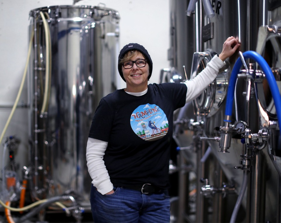 <strong>Martha Hample, 57, said starting the brewery helped her cope with COVID isolation.&nbsp;&ldquo;I could really focus on it and it was positive and fun and creative. I knew nothing about brewing and was learning so much.&rdquo;</strong> (Patrick Lantrip/Daily Memphian)