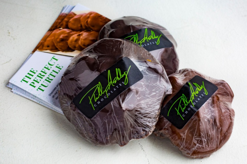 <strong>In early November, Phillip Ashley Chocolates&rsquo; turtles made the 2020 list of Oprah&rsquo;s Favorite Things.</strong> (Ziggy Mack/Special to the Daily Memphian)