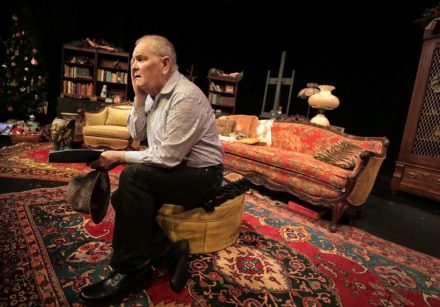 "<strong>Veteran actor and Memphis native Mark Chambers has returned to his hometown to perform the role of Truman Capote in ""Tru,"" a production of Cloud9Memphis in a special arrangement with Actors' Equity Association and Samuel French.</strong> (Jim Weber/Daily Memphian)"