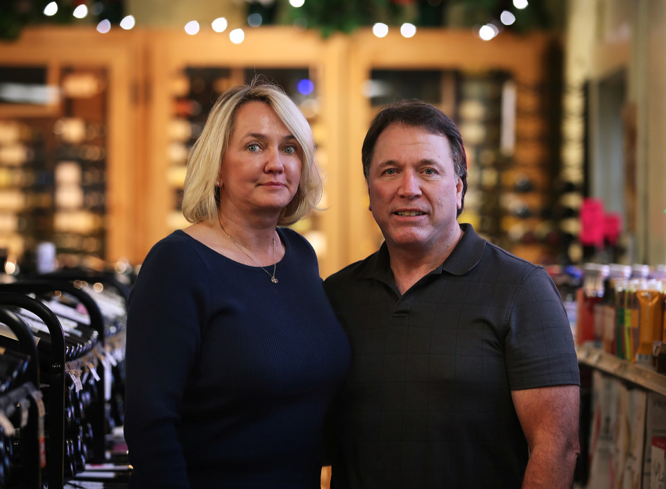 <strong>Mary and Doug Ketchum moved to Memphis from Salt Lake City, Utah, in 2016 to take over Kimbrough Fine Wine & Spirits, but an antiquated quirk in Tennessee's liquor laws threatened to sideline their dreams. Though they won their initial case, the state has taken its appeal all the way to the U.S. Supreme Court.</strong> (Patrick Lantrip/Daily Memphian)