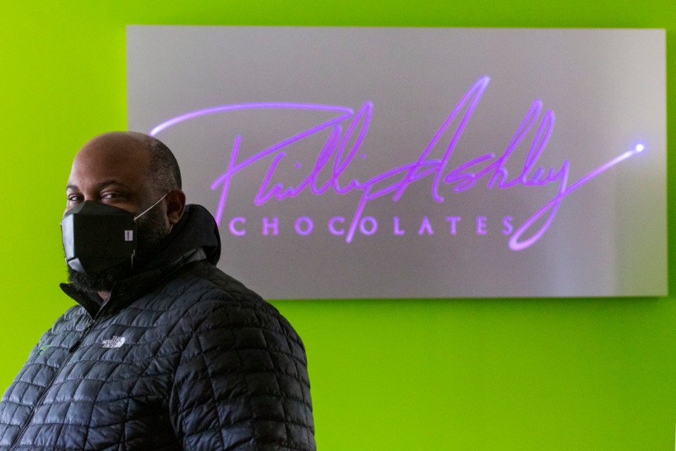 <strong>Phillip Ashley Rix spent a couple of years learning everything he could about chocolate and candy-making before opening Phillip Ashley Chocolates in 2012.</strong> (Ziggy Mack/Special to the Daily Memphian)