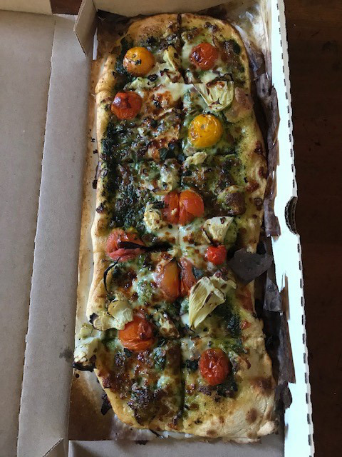 <strong>The California Love, which we picked from the list of $10 Tuesday specials, is on the husky side.</strong>&nbsp;(Peggy Burch/Daily Memphian)