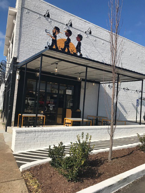 <strong>Slim &amp; Husky's occupies 634 Union, a restored brick building nearly a century old.</strong> (Peggy Burch/Daily Memphian)