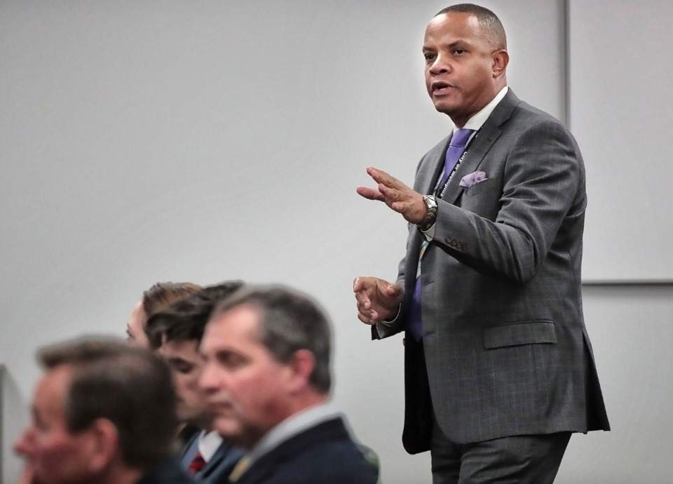 <strong>MLGW President and CEO J.T. Young (in a file photo)&nbsp;has recommended MLGW have some local power generation if it leaves TVA for another supplier.</strong> (Jim Weber/Daily Memphian)