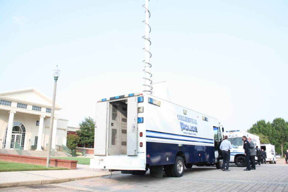 <strong>The Collierville Police Department has converted two vehicles inherited from the Shelby County Sheriff&rsquo;s Office into Mobile Command Centers.</strong> (Courtesy Town of Collierville)