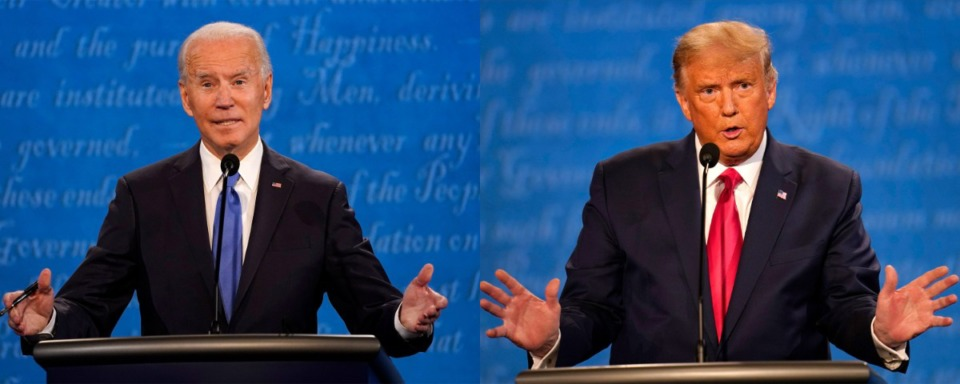 <strong>TennCare II, in place since the mid-1990s, was set to expire at the end of June. Then-President Donald Trump approved TennCare III for 10 years, but President Joe Biden (left) could undo it.</strong> (Associated Press file photos)