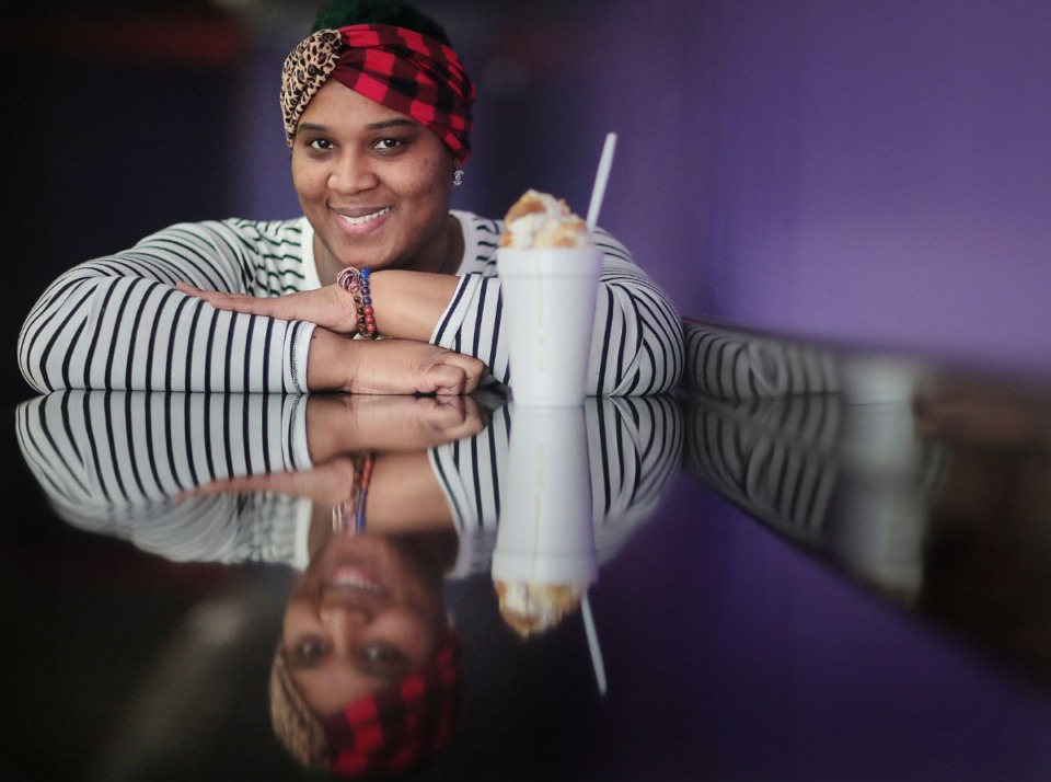 <strong>Marci Clark, seen here on Jan. 28, 2020, will open a second Suga Mama&rsquo;s SnoBalls location at 7041 E. Shelby Drive in Southeast Memphis in March.</strong> (Daily Memphian file)
