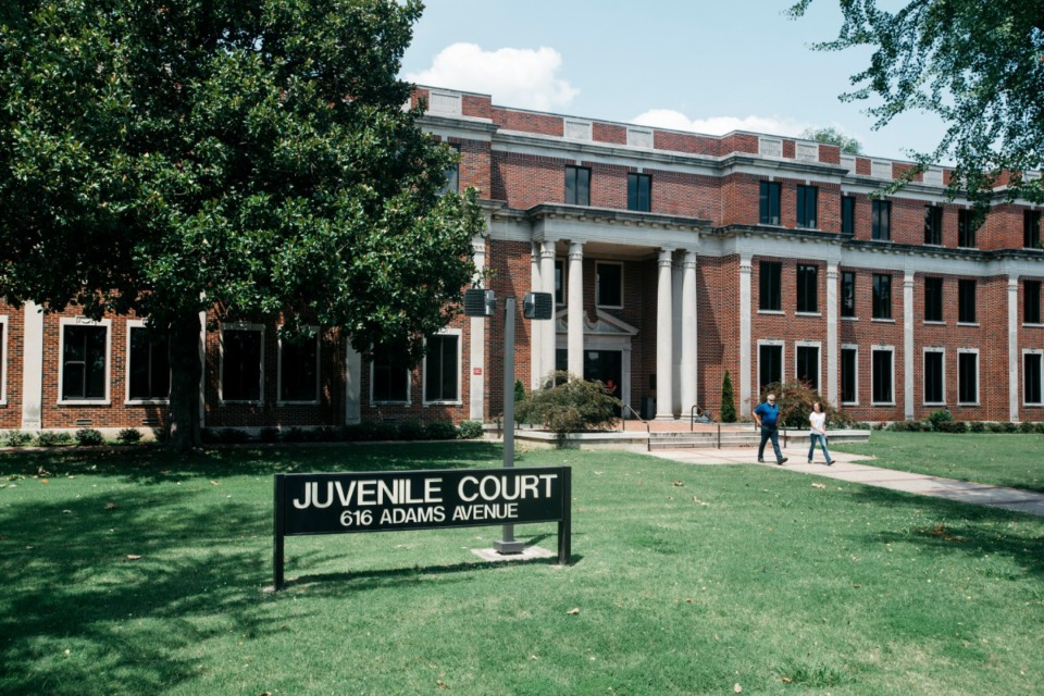<strong>The Juvenile Court building is one of eight Shelby County facilities Downtown that will be closed Monday, Feb. 22 due to water-pressure issues.</strong> (Daily Memphian file)