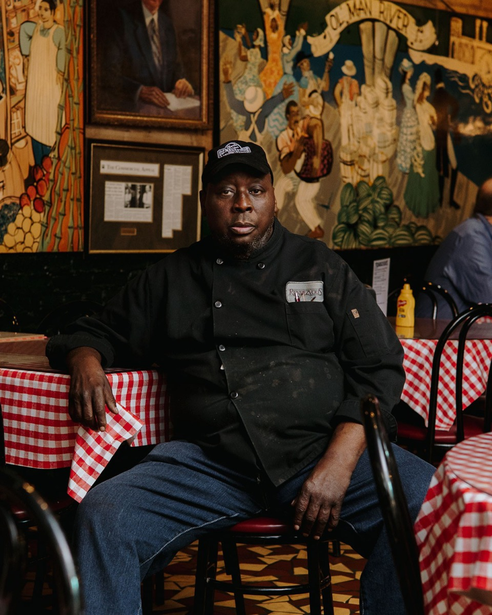 <strong>Bobby Ellis, who died Feb. 22, made a career at the Rendezvous restaurant Downtown.</strong> (Houston Cofield/Special to The Daily Memphian)