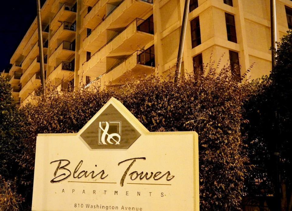<strong>The Blair Tower Apartments sold for $15.8 million, or about $76,000 per unit.</strong> (Tom Bailey/Daily Memphian)