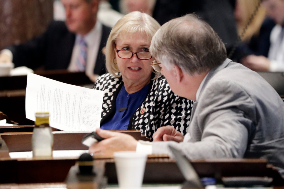 <strong>Sen. Becky Duncan Massey, R-Knoxville (seen in file photo), has sponsored a bill where business owners would be able to vote in elections where the business property is located, even if the owner doesn&rsquo;t live in the same place as the business.</strong> (AP Photo/Mark Humphrey file)