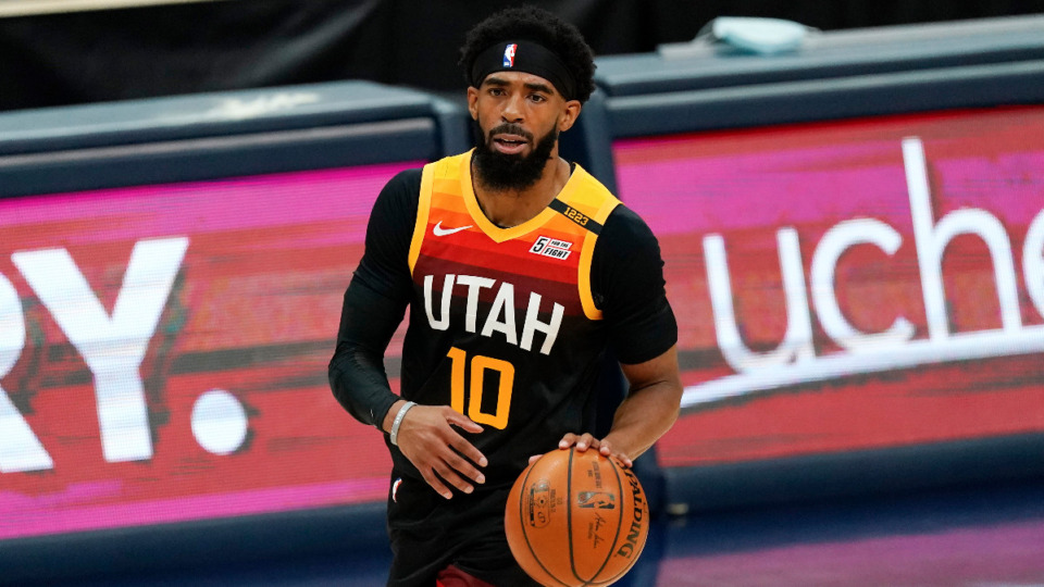 <strong>Mike Conley, the former Grizzlies star and current Utah Jazz guard, was once again not selected to play in the NBA All-Star game.</strong> (AP Photo/David Zalubowski file)