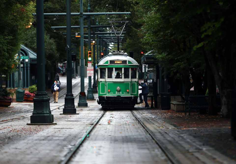 <strong>MATA announced that service to the Central Station trolley station is scheduled to begin on Sunday, Feb. 28.</strong> (Patrick Lantrp/Daily Memphian file)