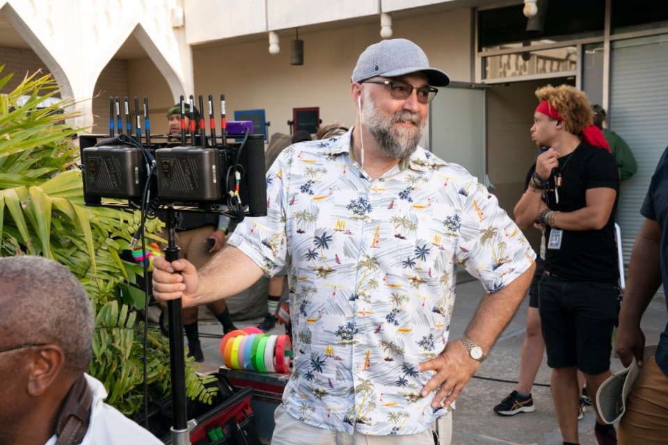 <strong>Director Craig Brewer on the set of &ldquo;Coming 2 America,&rdquo; a sequel to the Eddie Murphy film&nbsp;&ldquo;Coming to America.&rdquo;</strong> (Quantrell D. Colbert/Paramount Pictures)