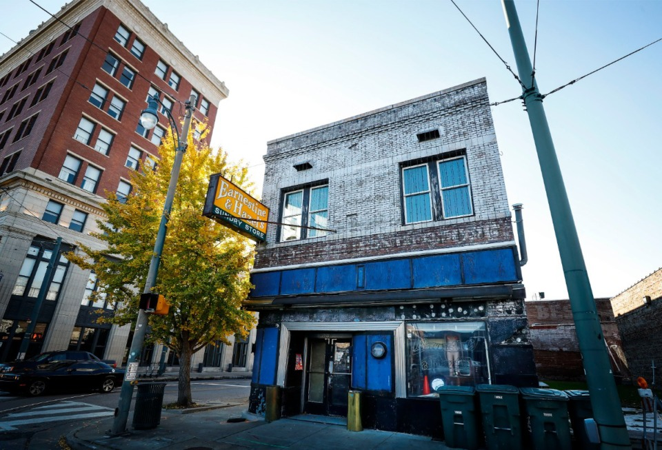 <strong>The sale closed a couple of days ago for the 102-year-old building at 531 S. Main where Earnestine &amp; Hazel&rsquo;s is located.</strong> (Mark Weber/The Daily Memphian file)