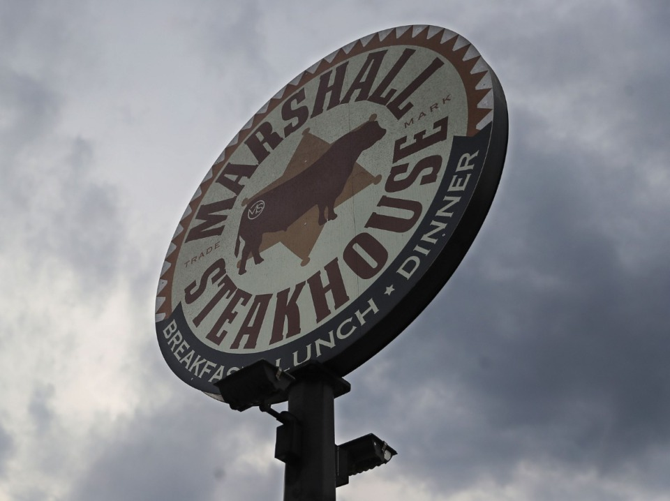 <strong>Holly Springs-based Marshall Steakhouse, seen on Feb. 25, 2021, will be building a new location at The Lake District in Lakeland.</strong> (Patrick Lantrip/Daily Memphian)