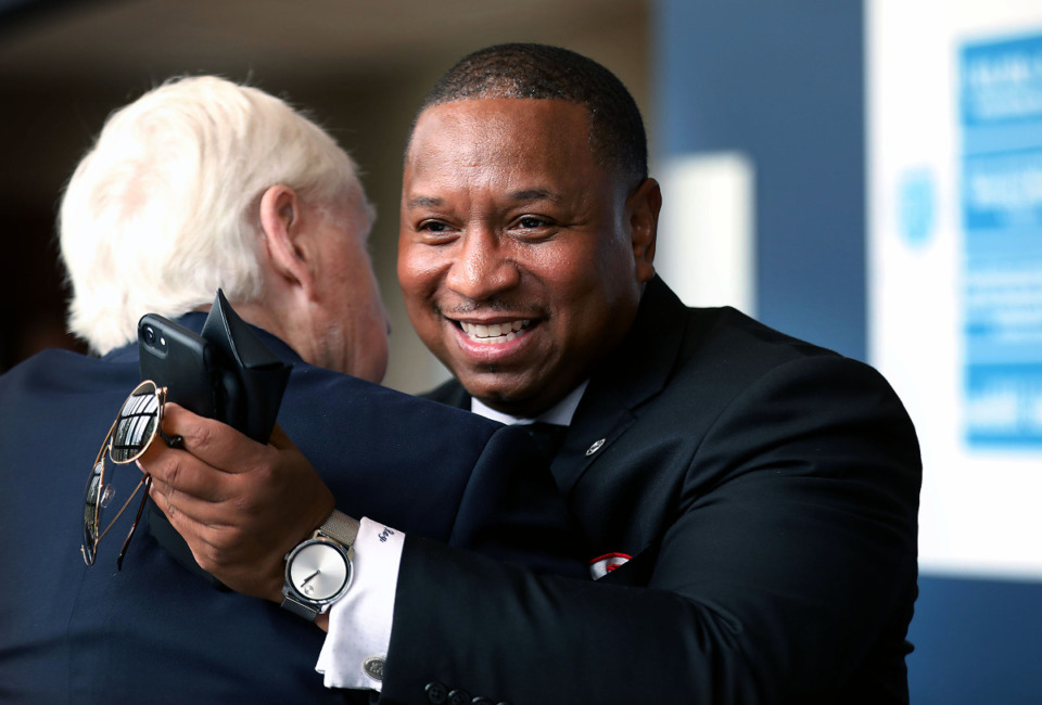 <strong>SCS Superintendent Joris Ray, seen in file photo, pulled the vote on a $14.5 million literacy contract from this week&rsquo;s school board meeting agenda. </strong>(Patrick Lantrip/Daily Memphian file)