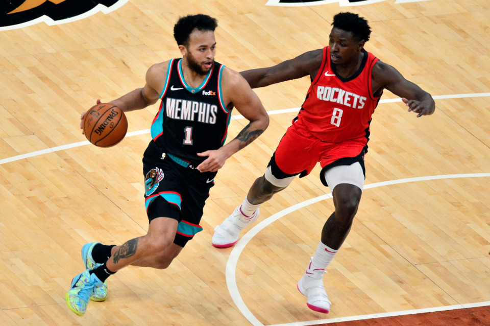 <strong>Memphis Grizzlies forward Kyle Anderson (1) will miss Tuesday&rsquo;s game at Washington with an illness.</strong> (AP Photo/Brandon Dill file)