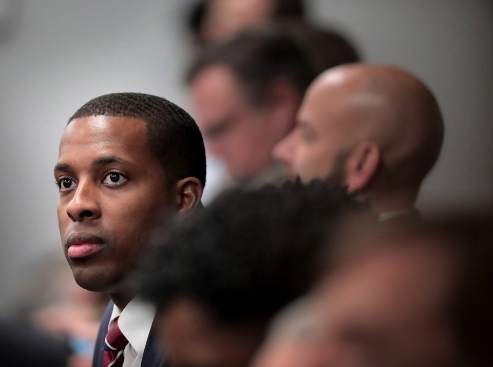 <strong>Memphis City Council member J.B. Smiley Jr., seen here in 2019, wants state Sen. Brian Kelsey to exempt Memphis from&nbsp;his proposal to drop all residency requirements everywhere in the state for police and firefighters.</strong> (Jim Weber/Daily Memphian file)