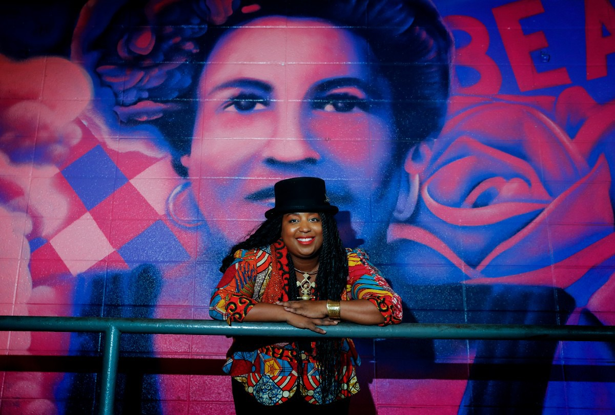<strong>Memphis writer, poet and editor Sheree Ren&eacute;e Thomas, whose work will appear in a new Marvel Black Panther short story anthology. She&nbsp; recently released a collection of short prose through Jack White's Third Man Books and is editor of the prestigious Magazine of Fantasy &amp; Science Fiction.</strong> (Mark Weber/The Daily Memphian)