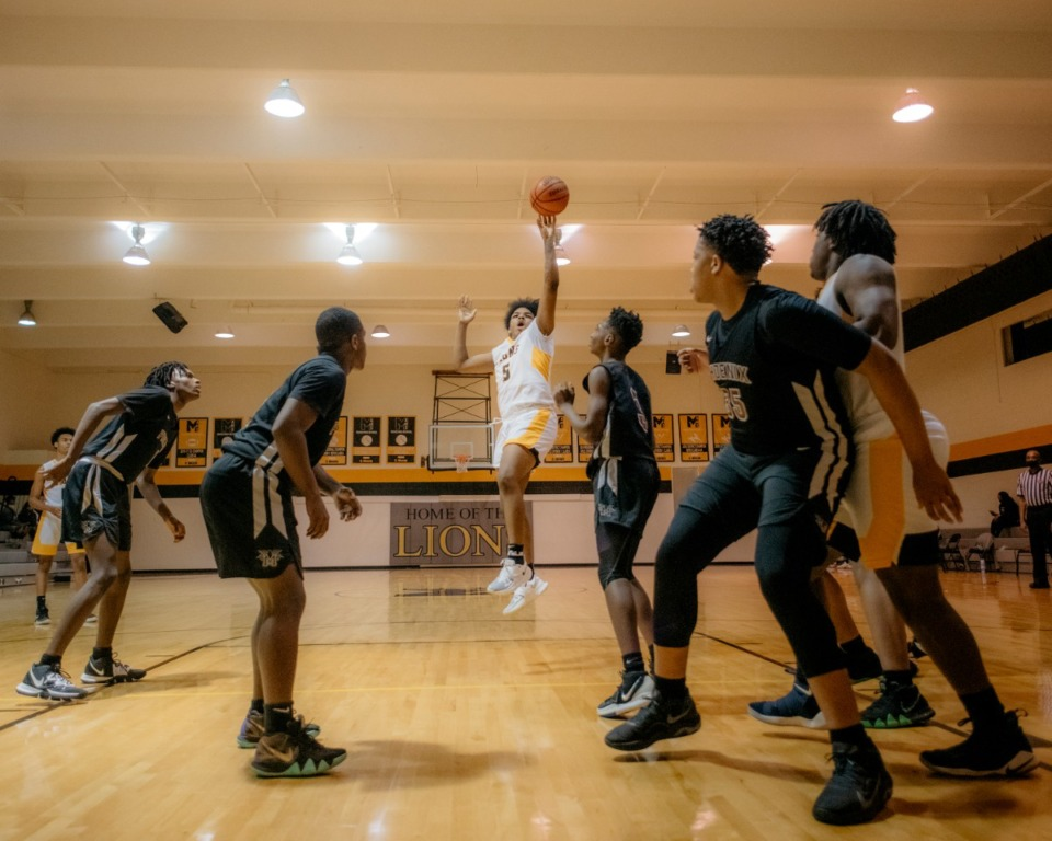 <strong>MASE (in a Jan. 26 photo from a game against MAHS) is the second Memphis area team to be banished from the TSSAA tournament.</strong> (Houston Cofield/Daily Memphian file)