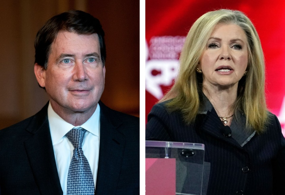 <strong>Tennessee&rsquo;s two Republican Senators Bill Hagerty and Marsha Blackburn voted against the $1.9-trillion COVID relief bill that cleared the U.S. Senate Saturday, March 6, on a party line 50-49 vote.</strong> (AP file)