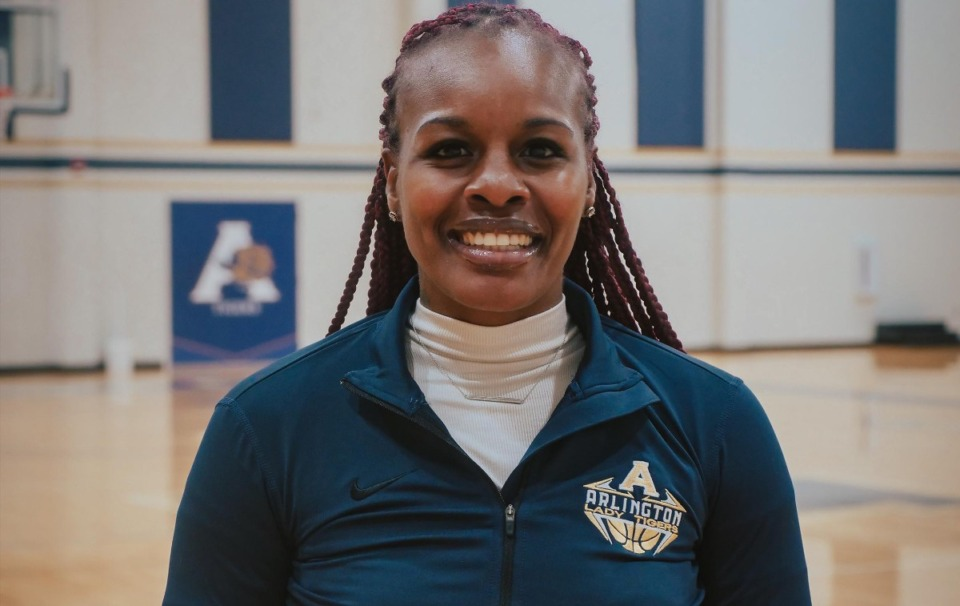 <strong>Arlington girls basketball coach Ashley Shields is expected to coach the team on Tuesday against Collierville.</strong> (Courtesy of Arlington Schools)