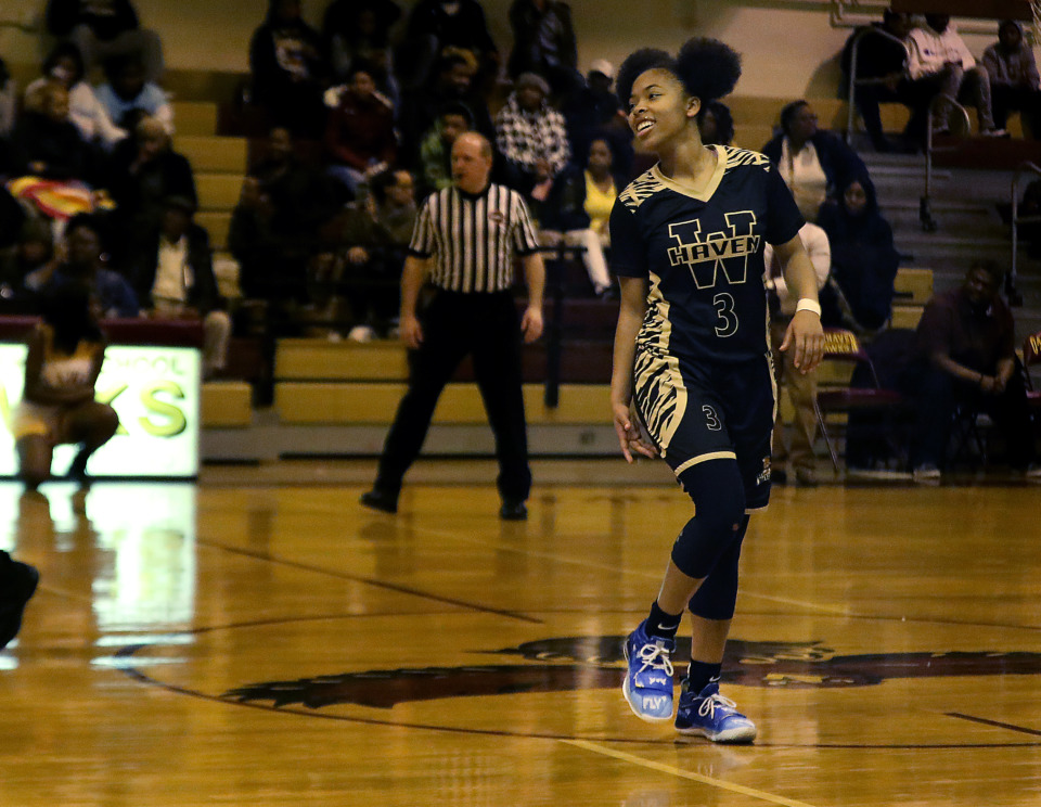 <strong>Whitehaven High School basketball standout Se'Quoia Allmond is back on the court after recovering from the tragedy of losing her cousin, 18-year-old Manassas High graduate and aspiring college basketball player, Christopher Reed. Reed was shot and killed while at a friend's house on Farrington Street in South Memphis in the early-morning hours of Sept. 4.&nbsp;</strong>(Patrick Lantrip/Daily Memphian)