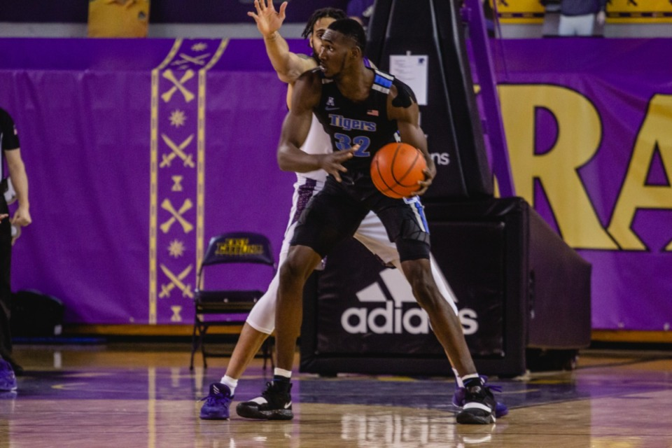 <strong>Moussa Cisse, shown here during a University of Memphis Tigers game against East Carolina in January, is the AAC&rsquo;s Freshman of the Year.</strong> (Houston McCullough/ECU Athletics)