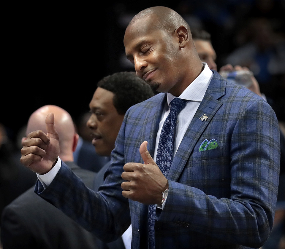 """<strong>&ldquo;Lil&rsquo; Penny&rsquo;s gettin&rsquo; in shape,"""" University of Memphis coach Penny Hardaway revealed on&nbsp;ESPN&rsquo;s &ldquo;Get Up!&rdquo; program on Wednesday, Jan. 16. """"He&rsquo;s comin&rsquo; back.&rdquo;</strong> (Jim Weber/Daily Memphian file)"""