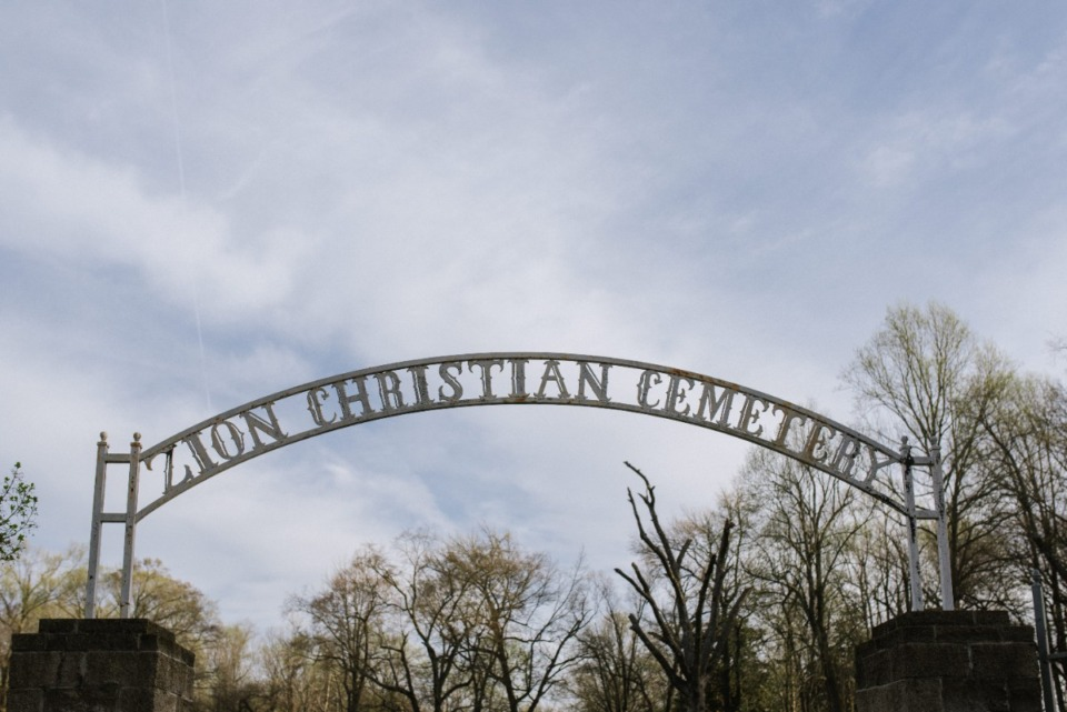 <strong>The entrance to Zion Christian Cemetery, the oldest African American cemetery, established in 1876 by freedmen in Memphis Tuesday, March 16, 2021</strong>. (Lucy Garrett/Special to the Daily Memphian)
