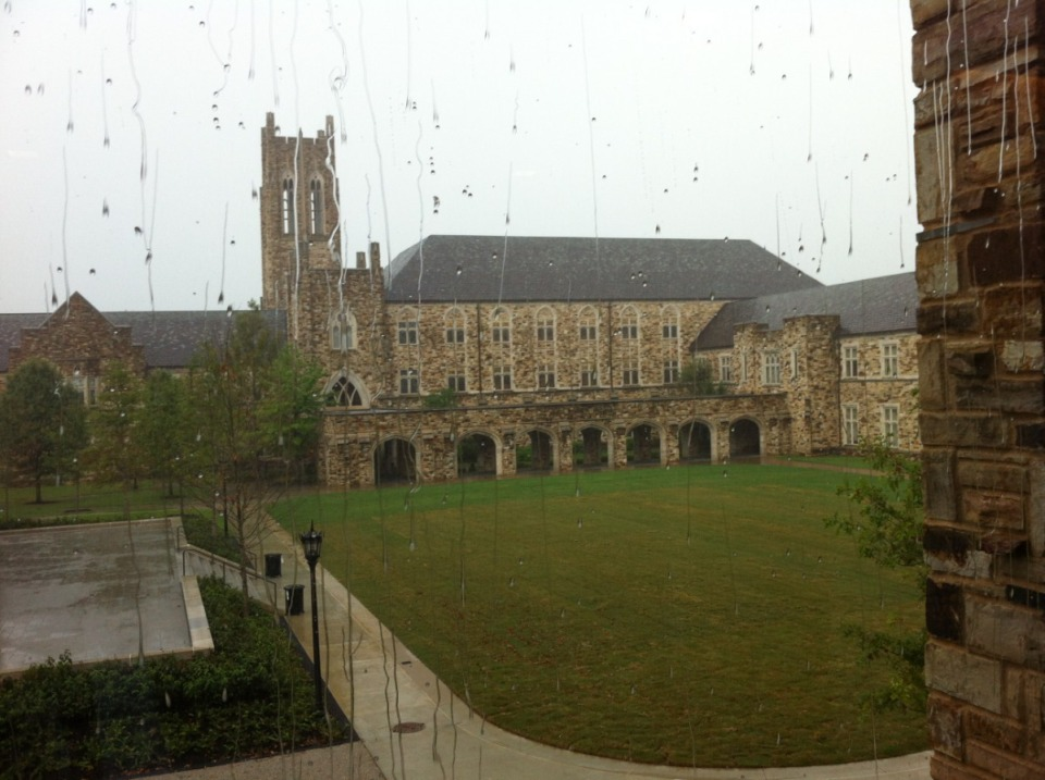 <strong>Rhodes College, seen here in 2017, is planning a new residence hall.</strong> (Daily Memphian file)