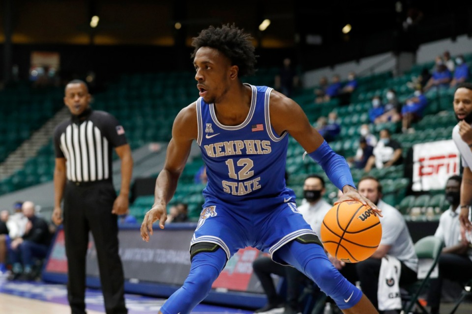 <strong>&ldquo;We just came out with a lot of fire and a lot of heart,&rdquo; forward DeAndre Williams (12) said.&nbsp;&ldquo;We just want to win.&rdquo;</strong> (Photo courtesy of NCAA)