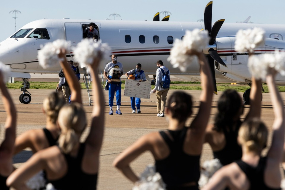 <strong>The Memphis Tigers men&rsquo;s basketball team are welcomed home after winning the NIT championship against the Mississippi State Bulldogs.&nbsp;</strong>(Brad Vest/ Special to The Daily Memphian)