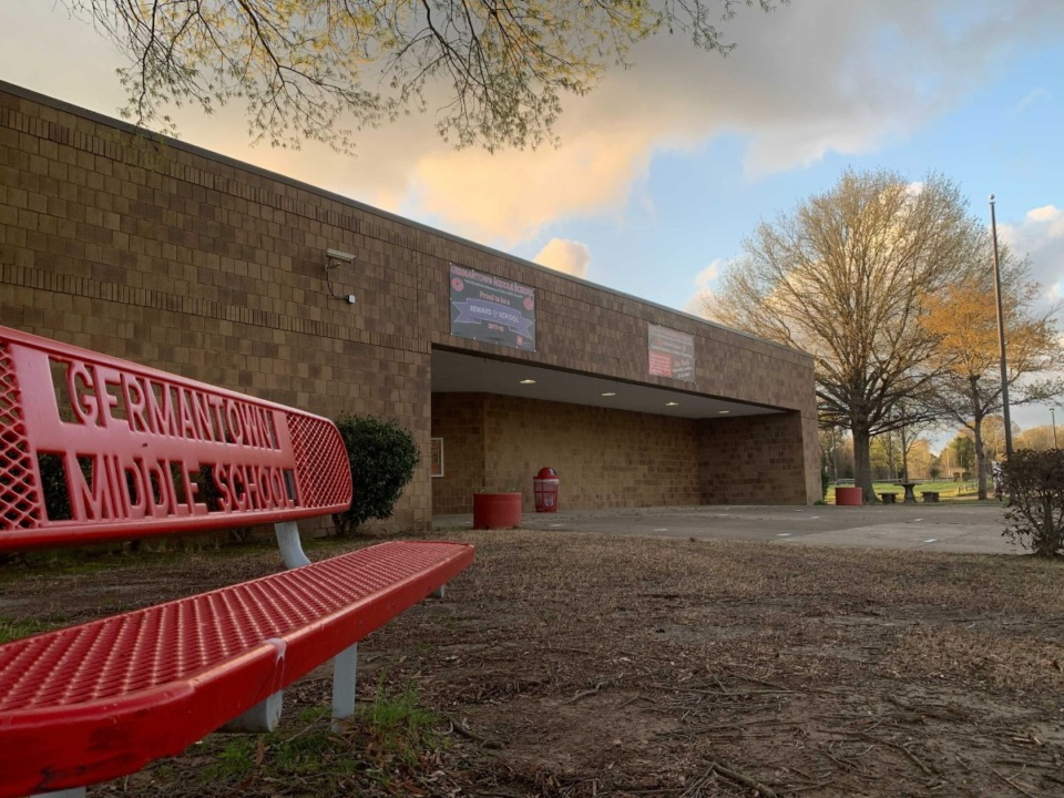 <strong>Germantown Middle School is one of the &ldquo;3Gs&rdquo; the suburb is seeking to administer.</strong> (Abigail Warren/Daily Memphian file)