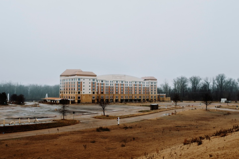 <strong>The former Harrah's Casino in Tunica, Mississippi. The casino closed its doors in 2014.</strong> (Daily Memphian file)