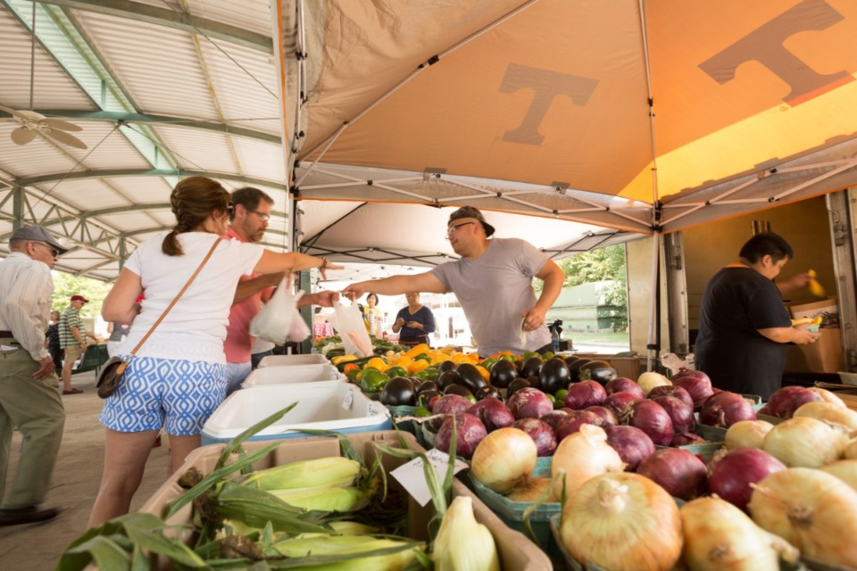 <strong>The Memphis Farmers Market opens for its 16th year Saturday, April 3, in Downtown Memphis, with 61 vendors.</strong> (Daily Memphian file)