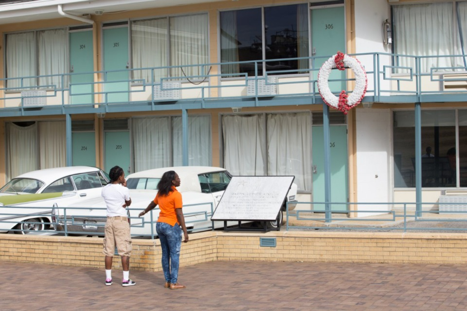 <strong>The National Civil Rights Museum will be closed April 4 for the Easter holiday, but visitors can view the balcony site of Dr. Martin Luther King Jr.&rsquo;s final moments from the courtyard.</strong> (Daily Memphian file)