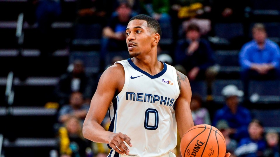 """<div id=""""divBody""""><div><strong>The Grizzlies will be without several players when they take on the Miami Heat Tuesday night, including&nbsp;guard De'Anthony Melton</strong>.&nbsp;(AP File /Brandon Dill)</div></div>"""