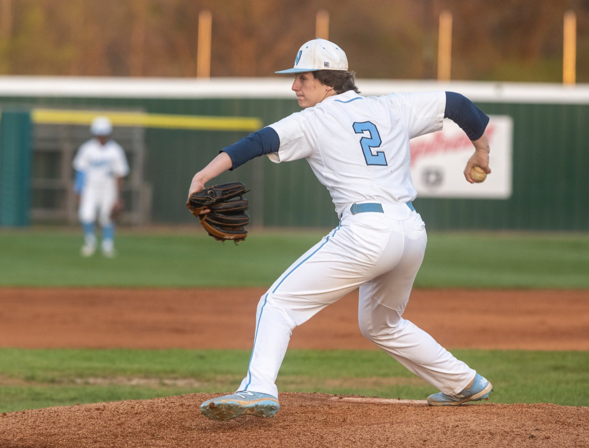 <strong>Jack Staples is on the mound for Northpoint against FACS Monday in Southaven.</strong> (Greg Campbell/Special to The Daily Memphian)