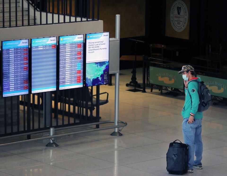 <strong>Air traffic is increasing at Memphis International Airport.</strong> (Patrick Lantrip/Daily Memphian file)