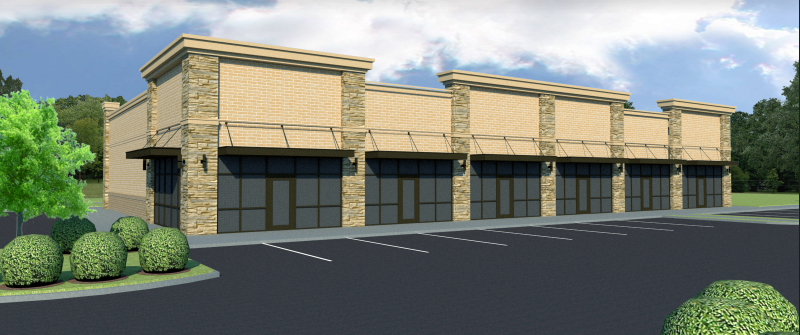 <strong>Crye-Leike is planning a new Arlington strip center on Airline Road.</strong>&nbsp;(Submitted)