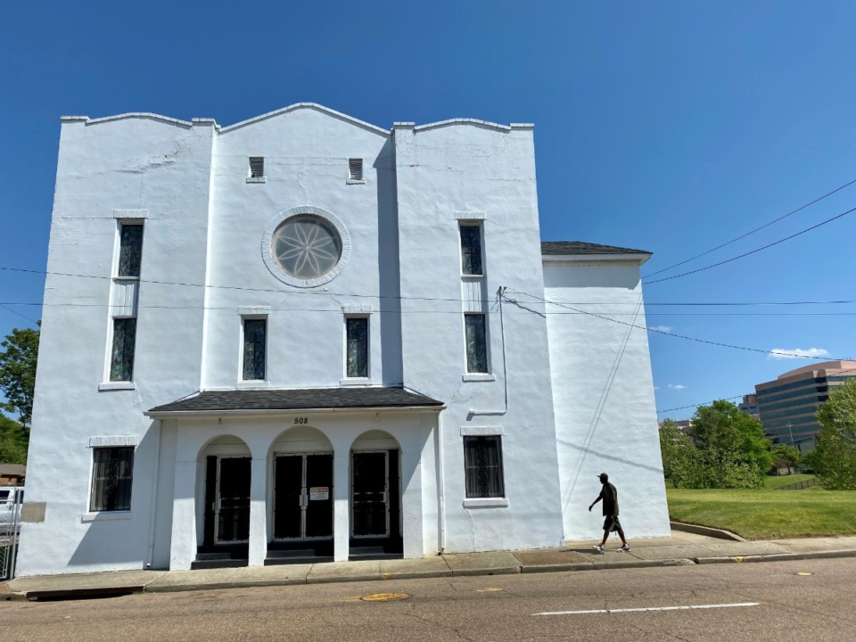<strong>St. Stephen Missionary Baptist Church, 508 N. Third, has sold a half-acre of vacant property immediately south of the church building to ALSAC/St. Jude.</strong> (Tom Bailey/Daily Memphian)