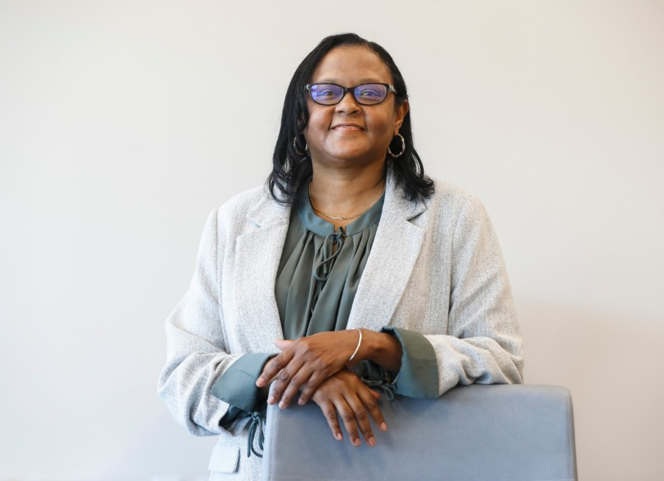 <strong>Theresa Guy is Community Health Coordinator with Cherokee Health Clinic. The clinic is one of six that have partnered with UTHSC in a statewide effort to look at health disparities surrounding COVID and come up with solutions.</strong> (Mark Weber/The Daily Memphian)