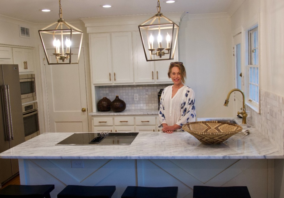<strong>The two kitchens feature granite countertops, Williams says.</strong>&nbsp;(Tom Bailey/Daily Memphian)