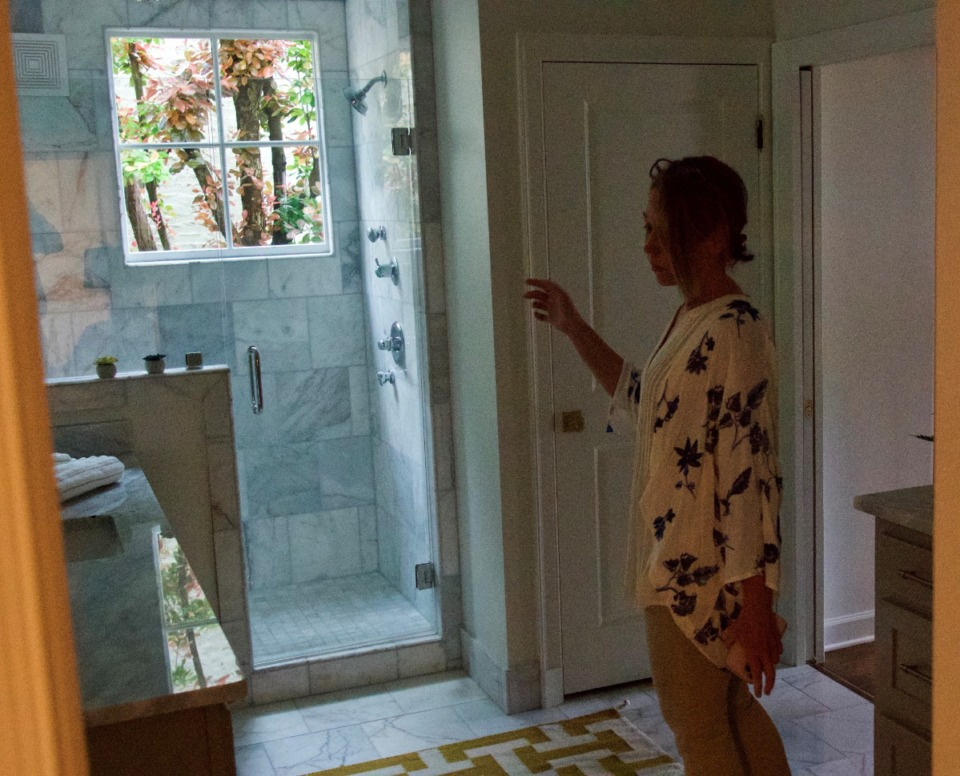 <strong>The duplex now has new primary bathrooms.</strong> (Tom Bailey/Daily Memphian)