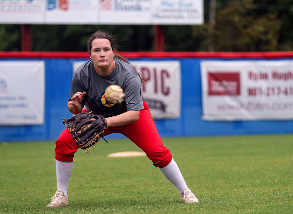 <strong>Tipton-Rosemark&rsquo;s Charli Rice is the team&rsquo;s ace pitcher. The senior is 19-4 with a 1.32 ERA with 172 strikeouts in 132.1 innings. </strong>(Patrick Lantrip/Daily Memphian)
