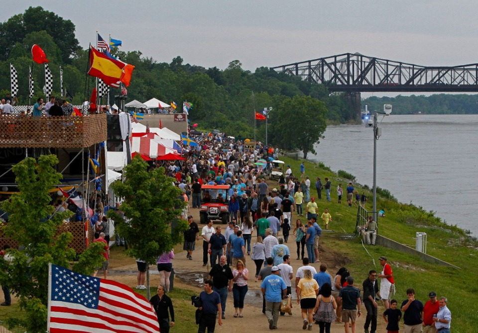 <strong>The Memphis in May World Championship Barbecue Cooking Contest will be back this year, but on a much smaller scale than recent years.</strong> (Daily Memphian file)