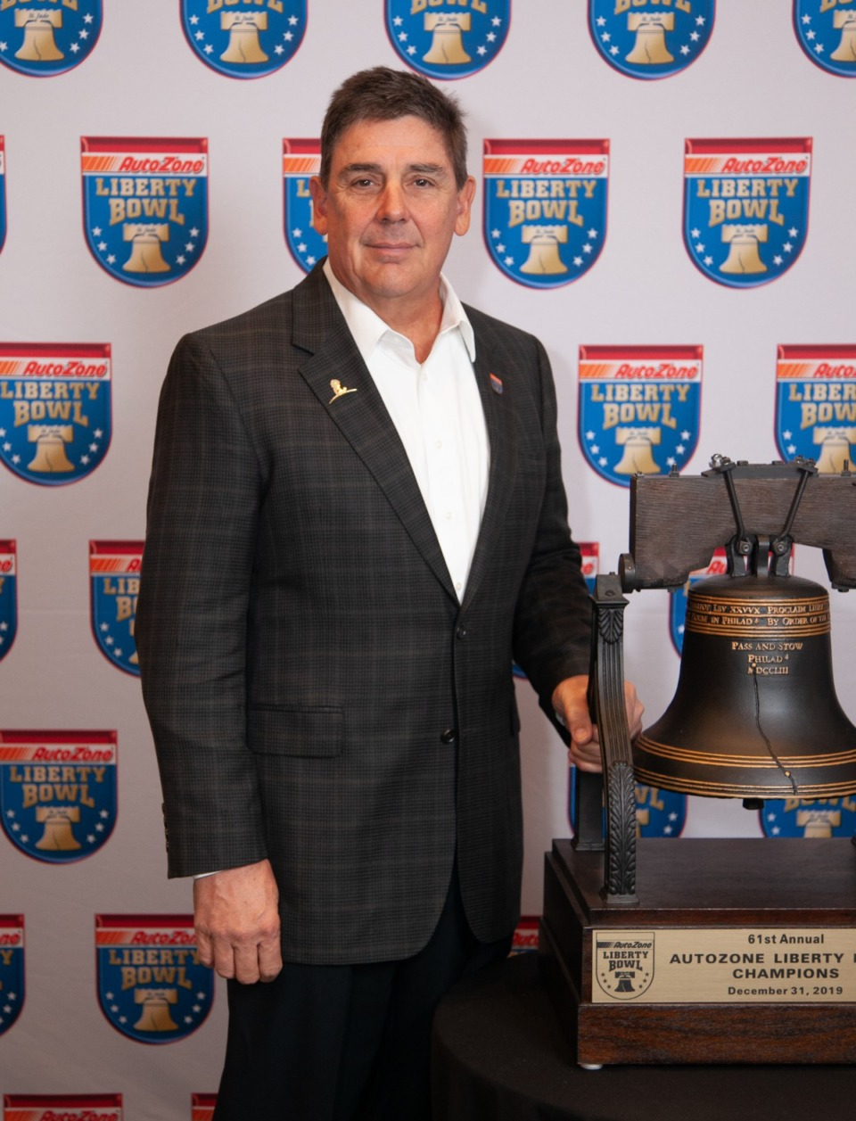 <strong>Chris Moore, a longtime board member, has been elected president of the 2021 AutoZone Liberty Bowl Festival Association.</strong> (Submitted)