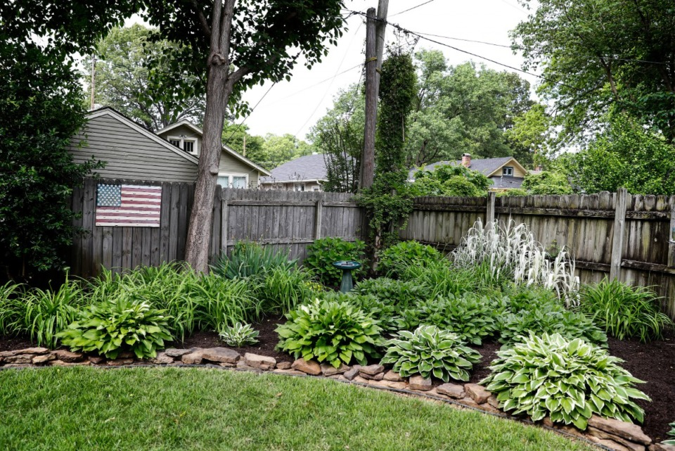<strong>The garden of Angie Wallick will be featured in the Cooper-Young Garden Walk on May 15-16.</strong> (Mark Weber/Daily Memphian)